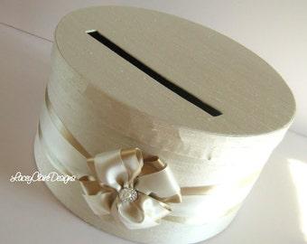 Wedding Card Money Box, Champagne Card Box, Gold Wedding Card Box, Wedding Card Holder, Container for Cards, Box for Cards, Custom