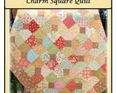 PDF Quilt Pattern Tangled Trellis Charm Square Quilt