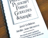 Professional Playscript Format Guidelines Sample 2nd Edition Mollie Ann Meserve