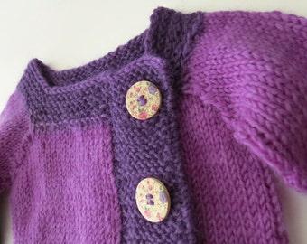 MY FIRST STYLISH sweater (purple)