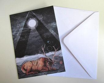 The Unsleeping Dream // Greeting Card