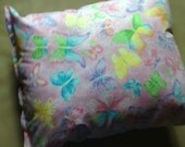 Aaahhh  Aromatherapy SPARKLING BUTTERFLIES Dog Pillow