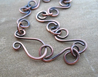 Copper Bracelet Handmade Hammered Copper Jewelry