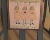 3 Girls Microslide Necklace