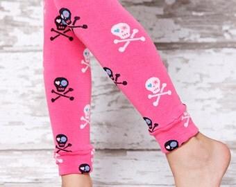 Leg Warmers - Girl Power Skulls