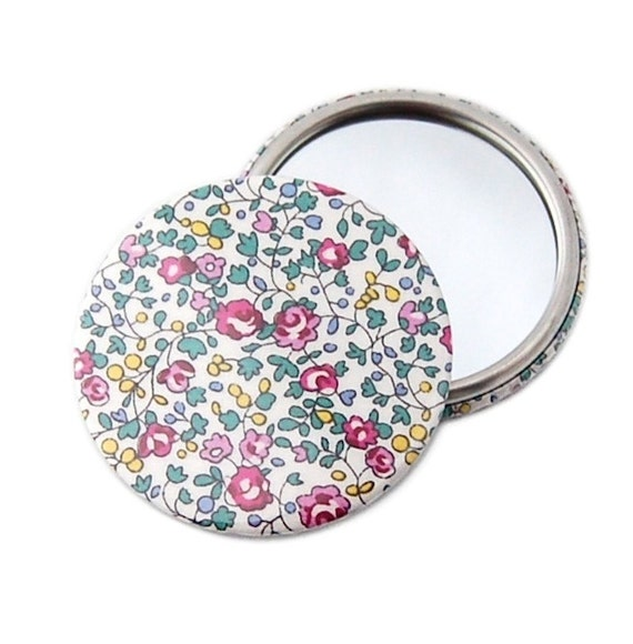 SALE Pocket Mirror - Eloise E, Liberty Print
