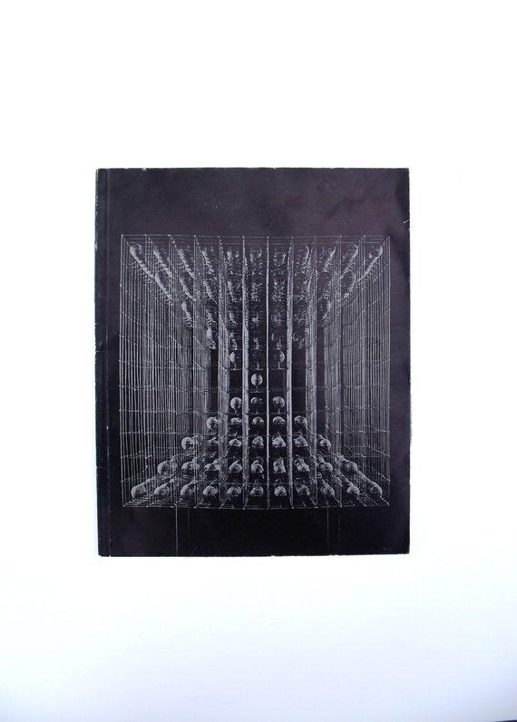 1972 Mod Contemporary Art Book Museum - Günter Haese Museum Exhibit Book - Sculptural Organic Geometrical Abstract Art