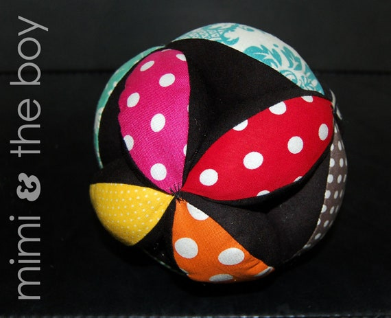 Toys R Us Ball Color : Fabric toy clutch ball patterns colors