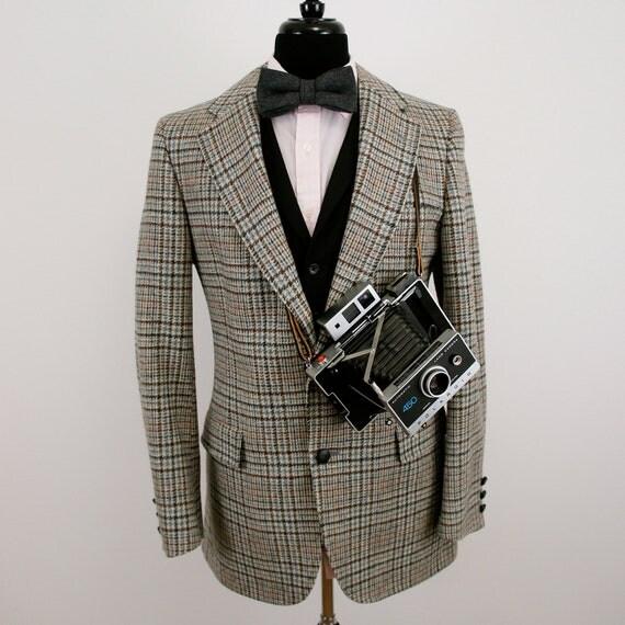 Vintage Austin Reed Tweed Jacket - US/UK Size 40 - Medium (M)