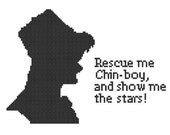 Rescue me Chin-boy. cross stich pattern pdf doctor who quote