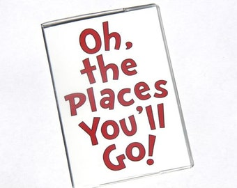 PASSPORT COVER - Oh the Places You'll Go