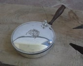 French Vintage Silent Butler with Coat of Arms