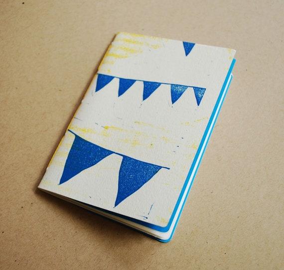 Blank Pocket-size Notebook Flag Design
