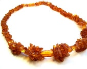 Baltic  Amber  Choker  17.7 inches.