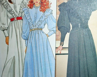 Vintage Prairie Country Rockabilly Outfit Sewing Pattern Butterick 4653 Size 10 Bust 32.5 UNCUT