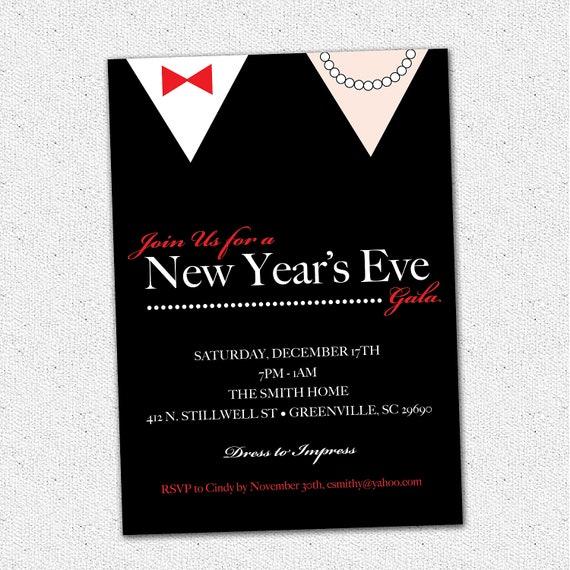 Items similar to New Years Eve Gala Ball Celebration Bash ...