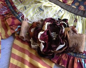 Burnt Almond Fudge Headband made to match Matilda Jane and Persnickety Fall 2012