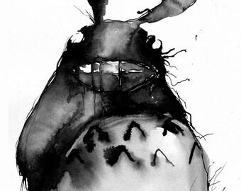Totoro - Matte Print