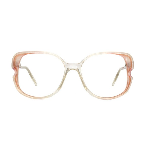 Mario di Stefano - transparent / pink vintage Eyeglasses