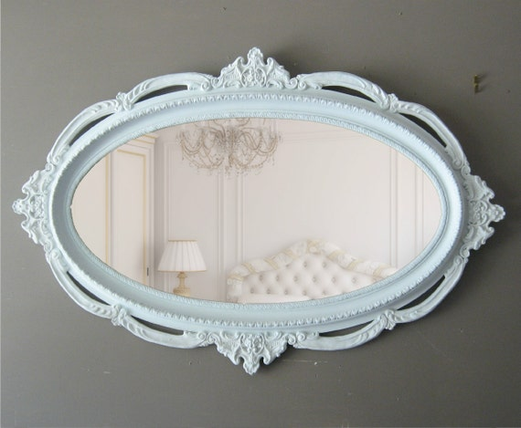 XXL Hollywood Regency Ornate Mirror, Shabby Chic Mirror