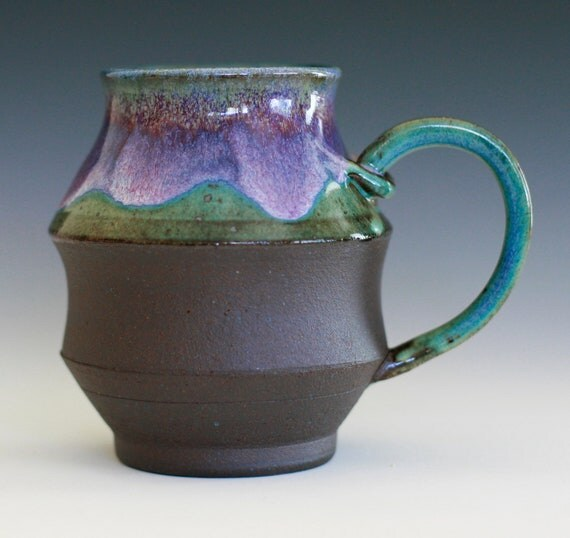 Large Coffee Mug, Holds 22 oz, handmade ceramic cup, coffee cup