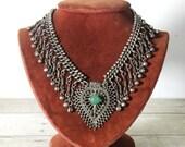 vintage necklace, gypsy summer
