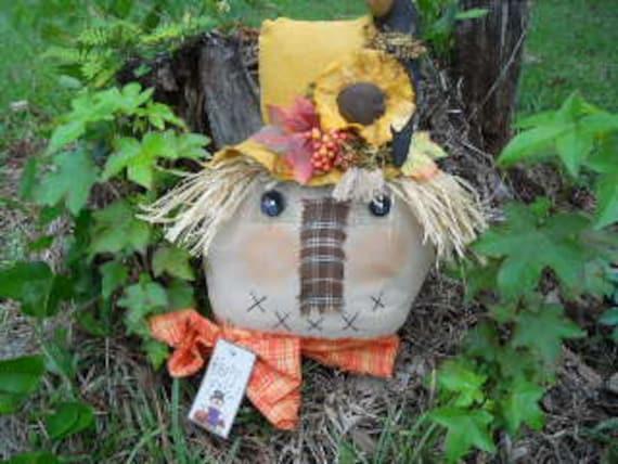Scarecrow Face Sam