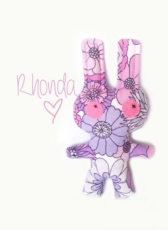 Rhonda keeps it simple - Bunny Girl  (made to order)