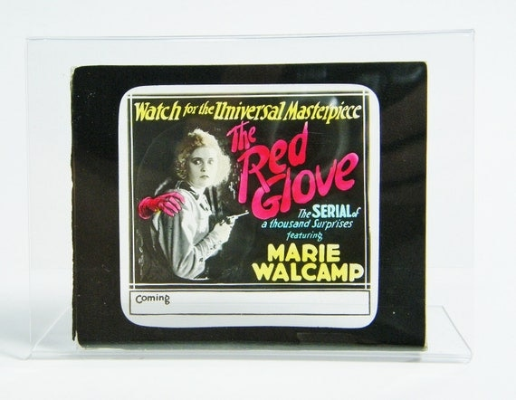 Silent Movie Theater Slide actress Marie Walcamp