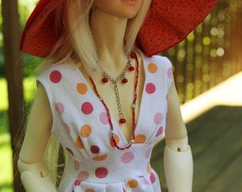 Seeing Spots Dress set for Twigling Ingenue SD BJD by EnModa