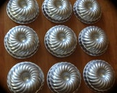 TEN Antique Metal Tins