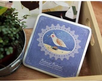 Korea DIY decoden Iron Boxed Cards Missma Card Set -Fairy Tale Animals