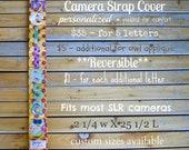 Personalized Camera Strap Cover