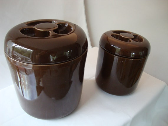 Set Of Modernist Ceramic Kitchen Canisters Robert Steven