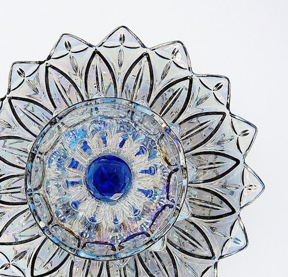 Reserved For Marie Garden Art Yard Decor Suncatcher UpCycled RePurposed Glass VICTORIA