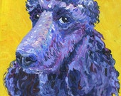 "Pet Portraits by commission, 5"" x 7"" OOAK from photo"