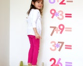 math by osmosis children's wall art stickers