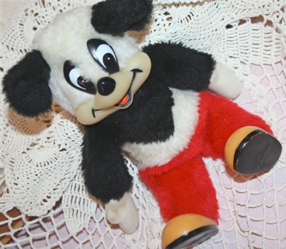 Andy panda vintage plush for Andy panda jardin