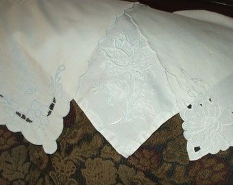 Popular items for napkin embroidery on Etsy