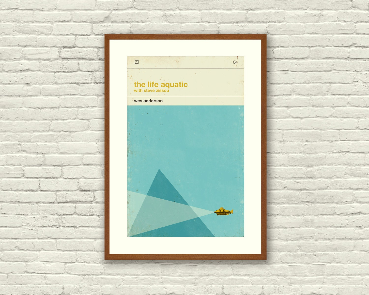 THE LIFE AQUATIC Inspired Poster Art Print Movie Poster 12