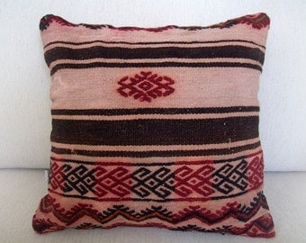 Anatolian turkish  Rug Pillow Cover (kilim)