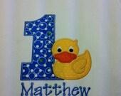 Rubber Ducky Birthday Shirt