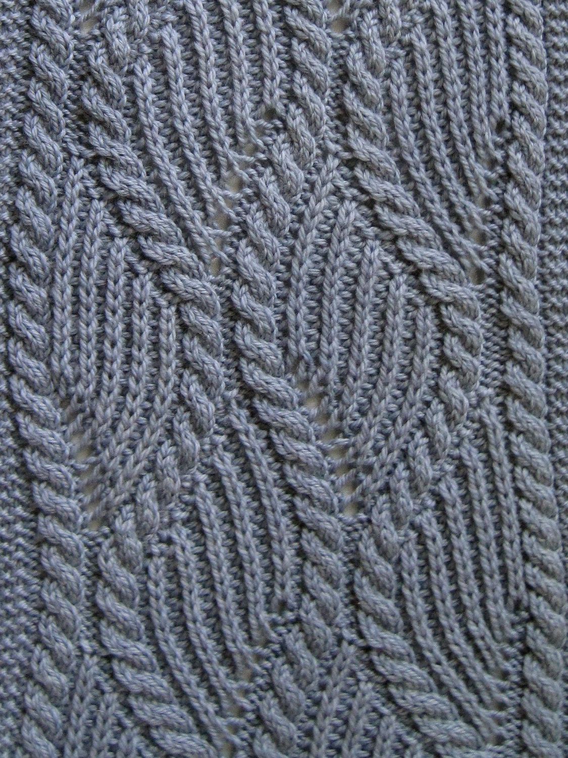 Cable Stitch Knitting Patterns : Knit Scarf Pattern: Brioche and Traveling Cable Knitting