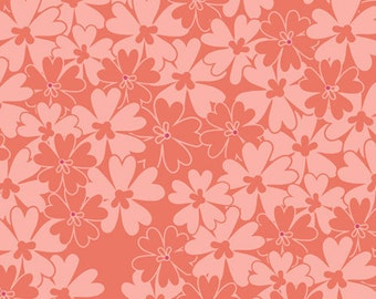 Sequins in Coral (BE-7109) - Bespoken by Patricia Bravo for Art Gallery Fabrics - By the Yard