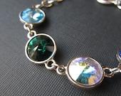 Family Birthstone Bracelet, Crystal Grandmother's Jewelry, Mother's Day, Mother's Bracelet, Personalized Jewelry