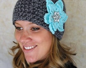 Poinsettia Hat- You pick colors and size
