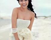 Romantic destination beach  Wedding Gown boho wedding dress- Bohemia