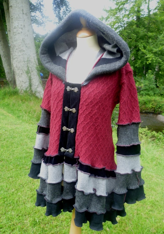 Vampyra - Custom Gypsy Vampire coat for Marie - RESERVED - please do not purchase