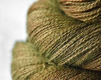 I dried the olive - BabyAlpaca/Silk Lace Yarn