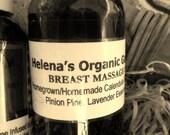Breast Massage Oil - Healing